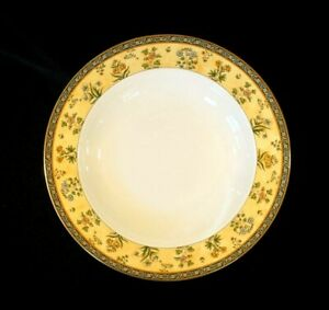 Beautiful Wedgwood India Rimmed Soup Bowl