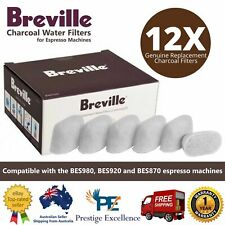 Breville Espresso Coffee Machine 12 Replacement Charcoal Water Filter Cup Brewer