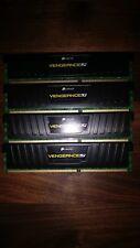 Corsair CML32GX3M4A1600C10 32 GB (4x8GB) Vengeance dispersore di calore a basso profilo DDR3