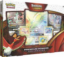 Pokemon SHINING LEGENDS PREMIUM POWERS COLLECTION BOX Sealed new ENG english