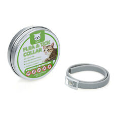 Cats Flea and  Tick Collar Treatment Prevention Adjustable Waterproof Y7H7