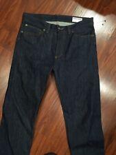 American Apparel Raw Selvedge Denim Jeans Sz 30/35 ( Nwot)