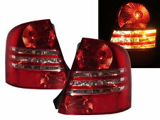 Protege BJ MK8 1998-2004 Sedan 4D Tail Rear Light Red/Clear for MAZDA