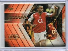 THIERRY HENRY Arsenal 2015 Topps Premier Gold All-Time Accolades Insert Card