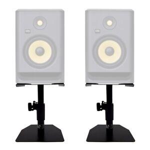 Gorilla GSM-50 Speaker Desktop Studio Monitor Stands Table Top (Pair)