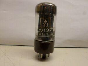 CV1377 / GZ34 from mullard brown base double D-getter .