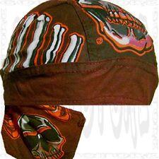 Mad Dog Do Sweat Bandana SKULL CAP Sold Du RAG Head Biker Doo Hat Unisex