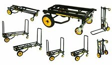 RocknRoller R8RT MultiCart - R8 500lb Capacity DJ PA Equipment Transport Cart