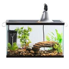Aquatic Reptile Habitat Kit Aquarium Tank Terrarium Pet Frog Turtle Lamp Filter