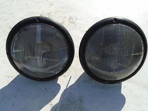 MERCEDES 190SL HEAD LIGHT LAMP SL BOSCH EURO HALOGEN SL 190 121 OLD LOGO