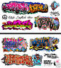 HO Scale Graffiti 2-Pack #24 - Weather Your Box Cars, Hoppers, & Gondolas!