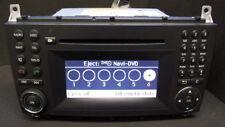 Mercedes Navigationssystem Audio 50 APS NTG2.5 mit 6x Wechsler W203 G463 CL203