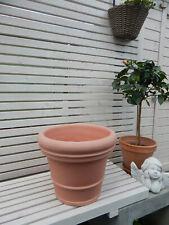 Blumentopf/Pflanzentopf/Garten Pflanzenkübel/Kunstoff ,Terrakota Optik