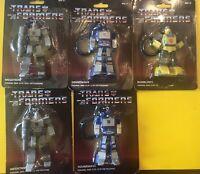 Transformers Bag Clip Optimus Prime Bumblebee Megatron Soundwave- Lot of 5 NIP