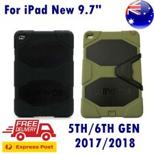 Griffin Survivor Heavy Duty All-terrain Rugged Case For iPad 9.7 5th/6th Gen