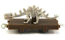 Rare thomas the tank engine Sodor Museum car W/ Dinosaur Stegosaurus trackmaster