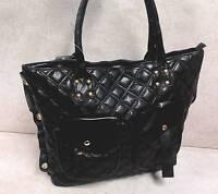 Damentasche Edel Handtasche aus weichem Leder schwarz TOP ANGEBOT neu 6109