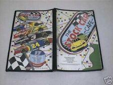 Art Work By Sam Bass The Stock Car Cafe Menu Cornelius North Carolina NASCAR