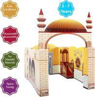 Playhouse Masjid Mosque Muslim Kid Toy Learn Islam Janamaz Prayer Mat Salah Rug