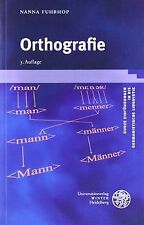 Orthografie von Fuhrhop, Nanna | Buch | Zustand gut