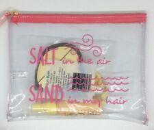 "Sun Bum Travel Kit with ""Salt in the Air Sand in My Hair"" Beauty Bag - FS!"