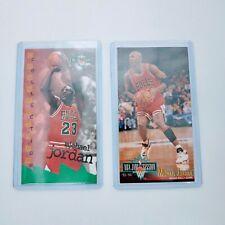 1993-94 & 1994-95 Fleer NBA Jam Session Michael Jordan Lot of 2. PO
