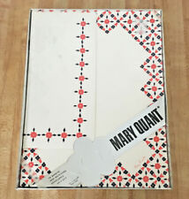 Mary Quant Vintage 15 Sheet Blue Red Flower Stationery Set NEW