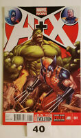 A+X Avengers X-men #1 NM 1st Print Jeph Loeb Marvel Now Wolverine Hulk