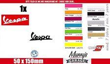 Vespa Roller, Scooter Aufkleber Sticker Decal Schriftzug Tuning Motorsport