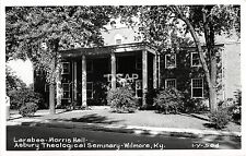 C39/ Wilmore Kentucky Ky RPPC Postcard c1950 Asbury Theological Seminary Hall 2
