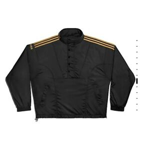 adidas x Ivy Park Drip 2.2 Padded Windbreaker Black & Gold Large In Hand