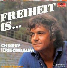 Single / CHARLY KRIECHBAUM / AUSTRIA / RARITÄT /
