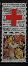 n°9) Timbres CROIX ROUGE Neuf**MNH 1985 n°2392 + Vignette (Red Cross) COLMAR