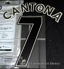 Manchester United Cantona 7 Name/Number Set Football Shirt Lextra 07-13