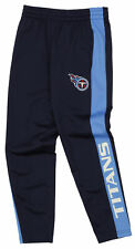 OuterStuff Nfl Youth Boys Side Stripe Slim Fit Performance Pant, Tennessee Titan