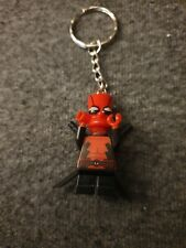 DEADPOOL BART SIMPSON lego Keychain