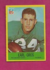 1967 PHILADELPHIA  # 137 EAGLES EARL GROS NRMT CARD (INV# A5103)