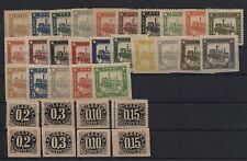 Versalo 1888 inutilizzato 16-25 A + 5xb, 36-39 A + B, 40-49 B (b03826)