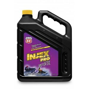 1 Case of 4 Gallons of Phillips 66 Injex Pro 2 Cycle Motor Oil