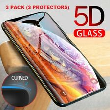 3 X-Full-Cover-5D-Tempered-Glass-Screen-Protector-For-Apple-iPhone-XS MAX  EDGE