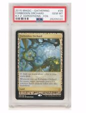 2015 MTG Magic the Gathering Forbidden Orchard Zendikar Expeditions Foil PSA 10