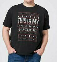 Mens Plus size 6XL MY UGLY CHRISTMAS TEE T-shirt  MR BIG COTTON  NEW