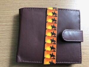 Ranger Mens Leather Wallet Brown Designer Limited Edition