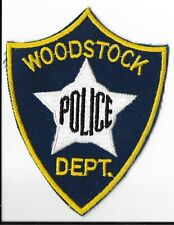 Woodstock Police Department, Illinois Shoulder Patch