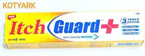 Itch Guard Skin Cream Relief from itch ,infections & Athletes Foot Fungus 12g