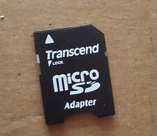 Transcend Micro SD to SD Adapter