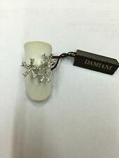 Anello Damiani fiori flowers 20021351 diamanti ring diamond oro bianco gold new