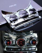 UK STOCK BRIGHT CHROME Center Dashboad Console Cover for MINI Cooper F55 F56 F57