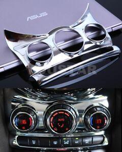 AU STOCK x1 BRIGHT CHROME Center Dashboad Console Cover MINI Cooper F55 F56 F57