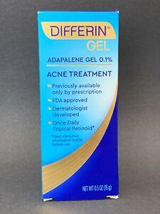 Differin Adapalene Gel 0.1% Retinoid Acne Treatment 15 g, EXP: 01/2023,  #041